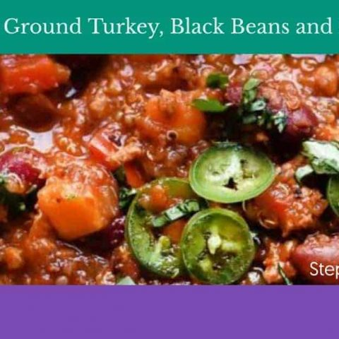 Ground Turkey and Sweet Potato slow cooker