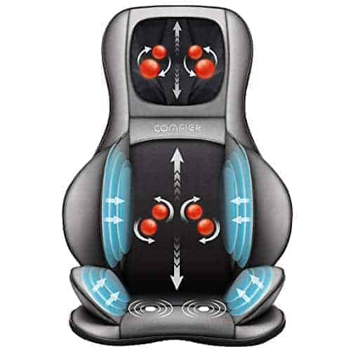 Comfier Shiatsu Neck And Back Massager Healthy Natured