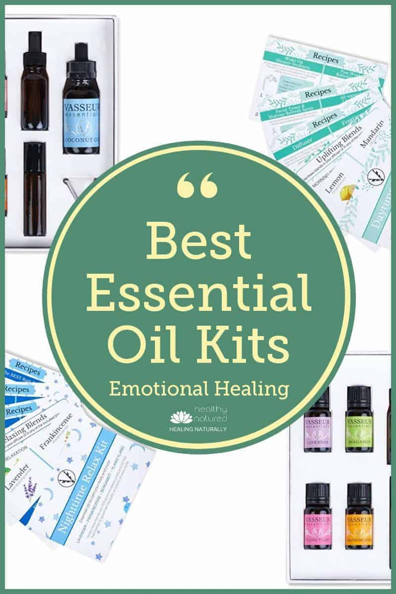 Discover 3 of the best essential oil kits designed for emotional healing.  Learn the 5 categories of essential oils and how you can use them.