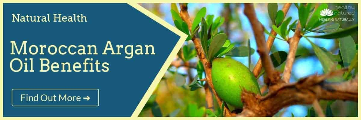 Moroccan Argan Oil Benefits Natural Health Banner
