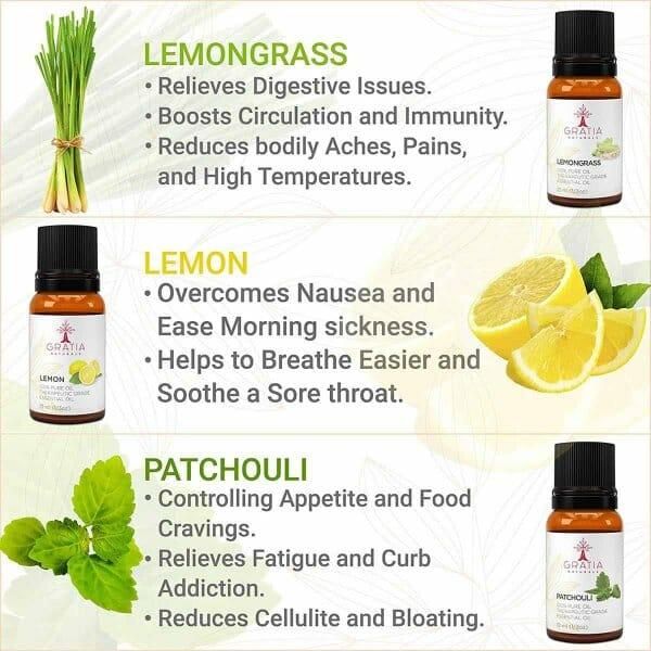 Gratia Naturals Essential Oils Set