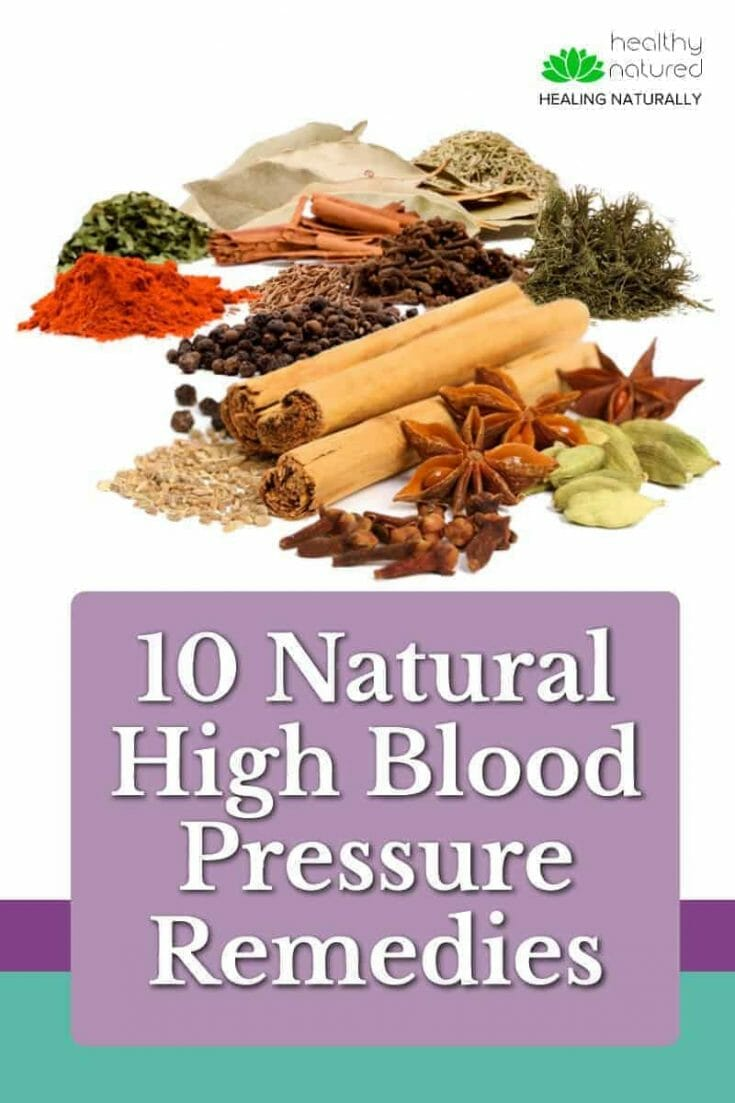 Natural High Blood Pressure Remedies