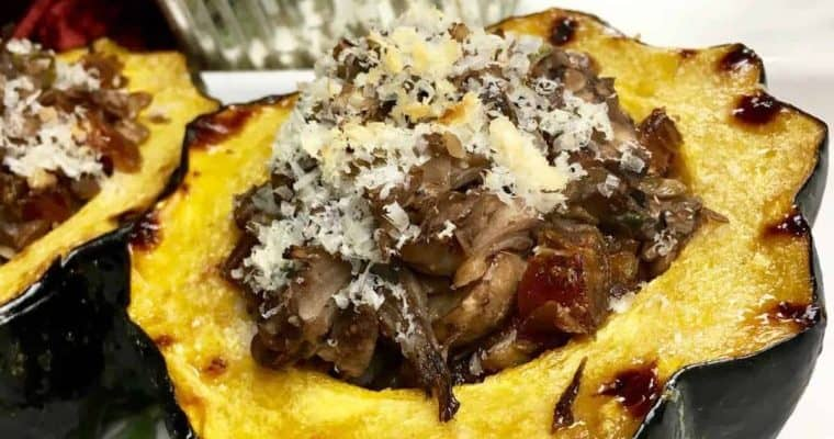 acorn squash - best recipes for Christmas Side Dishes