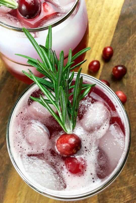 Christmas Recipe - Cranberry Spritzer
