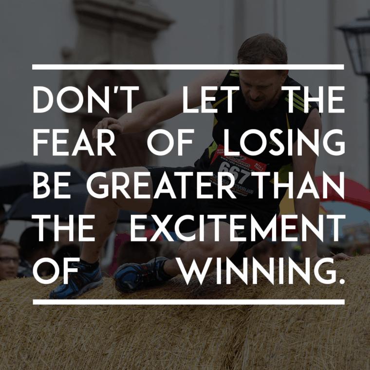 overcome fear - create a personal development plan