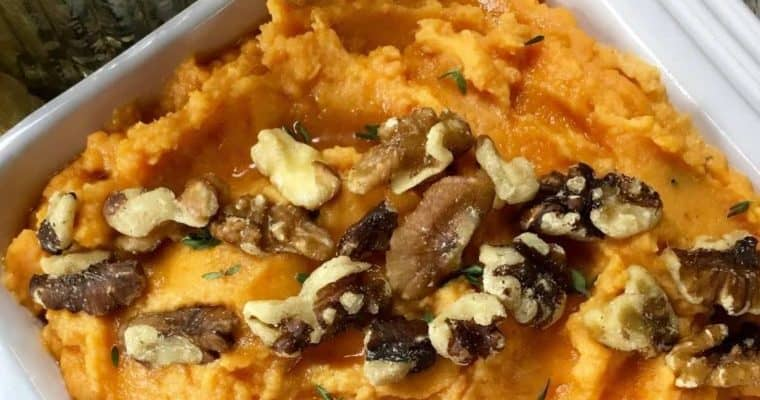 Best Recipes Christmas Side Dishes - Sweet Potato Mash