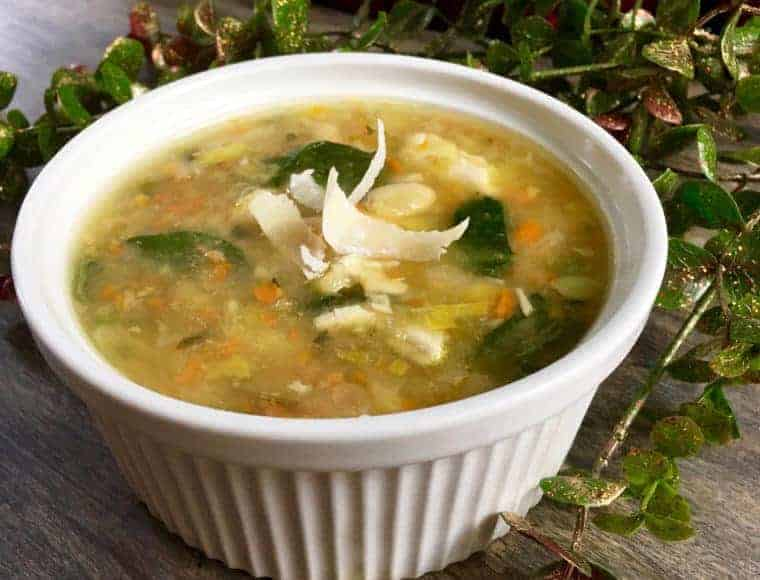 turkey and white bean soup