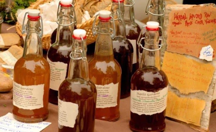 10 Natural High Blood Pressure Remedies - Apple Cider Vinegar Tonic