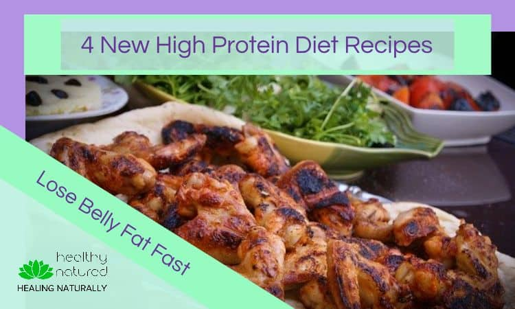 high protein diet - lose belly fat fast