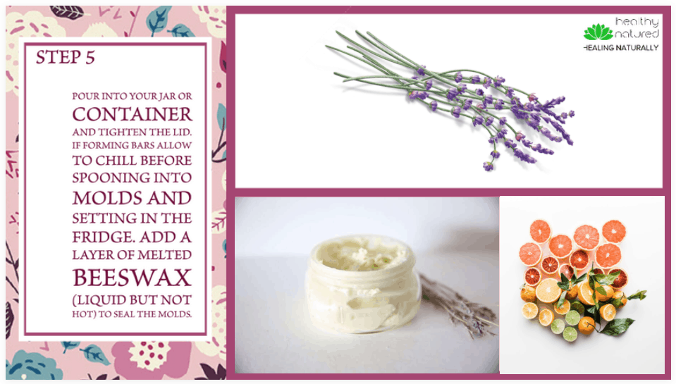 Step 5 - DIY Body Butter with essential oils
