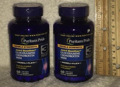 TWO - Double Strength Glucosamine / Chondroitin / MSM / Collagen / Boswellia