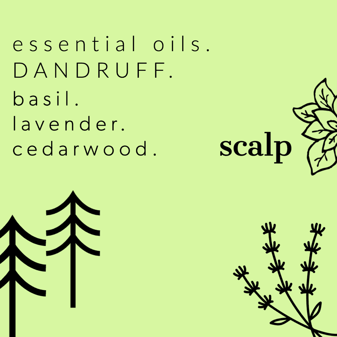 Amazing Aromatherapy Benefits For Health And Wellbeing - Scalp Care And Dandruff Treatment.