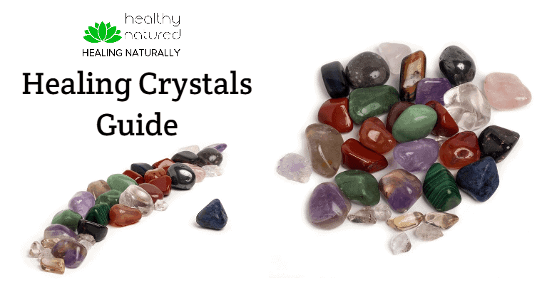 Natural Healing Crystals Guide Post