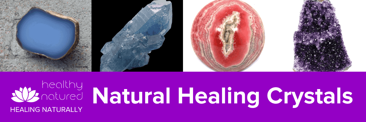 Natural Healing Crystals Guide Banner
